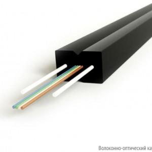 Hyperline FO-FTTH-IN-9S-8-LSZH-BK Кабель волоконно-оптический 9/125 (SMF-28) одномодовый, 8 волокон, самонесущий, со свободными волокнами (FTTH) в покрытии 250 мкм, гибкий, для внутренней прокладки, LSZH, –40°C – +70°C, черный