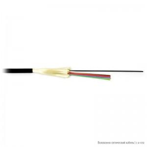 Hyperline FO-DT-IN/OUT-503-2-LSZH-BK Кабель волоконно-оптический 50/125 (OM3) многомодовый, 2 волокна, плотное буферное покрытие (tight buffer), внутренний/внешний, LSZH IEC 60332-3, –40°C – +75°C, черный