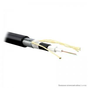 Teldor F50080118B (SLA-5-01X08-ZPRP-DD) (95L525Y08B) Кабель волоконно-оптический 50/125 (OM2) многомодовый, 8 волокон, модульная конструкция (loose tube), бронированный стальной лентой, для внешней прокладки, PE, -40°C - +70°C, черный