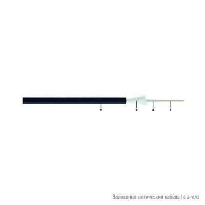 Belden GORA812.002100 Кабель волоконно-оптический 9/125-OS2 одномодовый, 12 волокон, loose tube, гелиевый, с защитой от грызунов (стекловолокно или нейлон), для внешней прокладки, PE, -30°C - +70°C, чёрный, аналог A-DQ(ZN)B2Y