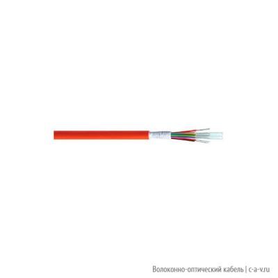 Belden GIMTA08.002100 Кабель волоконно-оптический 9/125 (G657A) одномодовый, 8 волокон, плотное буферное покрытие (tight buffer), для внутренней прокладки, FRNC / LSNH IEC 60332-1, -5°C - +55°C, оранжевый, аналог I-V(ZN)H