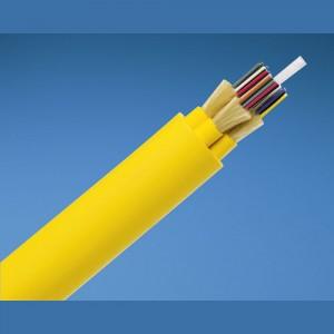 PANDUIT FPDL908 Кабель волоконно-оптический 9/125 (OS1) одномодовый, внутренний, 8 волокон, LSZH IEC 60332-1, 60332-3C, -20°C - +70°C, желтый