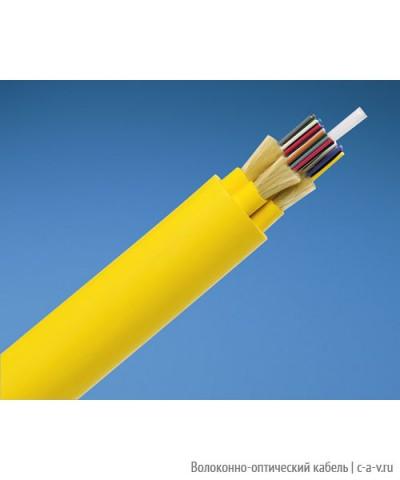 PANDUIT FPDL924 Кабель волоконно-оптический 9/125 (OS1/OS2) одномодовый, внутренний, 24 волокна, LSZH IEC 60332-1, 60332-3C, -20°C - +70°C, желтый