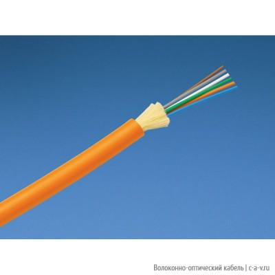 PANDUIT FPDL504 Кабель волоконно-оптический 50/125 (OM2) многомодовый, внутренний, 4 волокна, LSZH IEC 60332-1, 60332-3C, -20°C - +70°C оранжевый