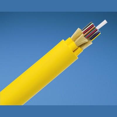 PANDUIT FPDL912 Кабель волоконно-оптический 9/125 (OS1) одномодовый, внутренний, 12 волокон, LSZH IEC 60332-1, 60332-3C, -20°C - +70°C, желтый