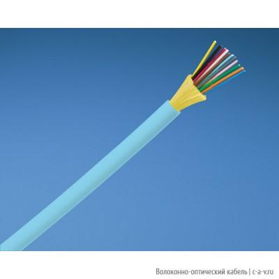 PANDUIT FQDLZ12 Кабель волоконно-оптический 10Gig™ 50/125 (OM4) многомодовый, 12 волокон, внутренний, LSZH IEC 60332-1, 60332-3C, -20°C - +70°C, цвет аква