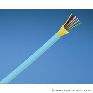 PANDUIT FQDLZ24 Кабель волоконно-оптический 10Gig™ 50/125 (OM4) многомодовый, 24 волокна, внутренний, LSZH IEC 60332-1, 60332-3C, -20°C - +70°C, аква
