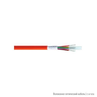 Belden GUMT212.002100 Кабель волоконно-оптический 50/125 (OM2) многомод., 12 волокон, плотное буферное покрытие(tight buffer), внутренний/внешний, FRNC и LSNH IEC 60332-1, -30°C - +70°C, оранжевый, аналог A/I-VQ(ZN)H(с 3.04.15 с волокном Bend Insensitive)