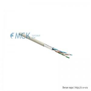 Belden 7860ENS.00500 (500 м) Кабель витая пара, экранированная SF/UTP, категория 6, 4 пары (23 AWG), одножильный (solid), экран - фольга + медная оплетка, с разделителем, FRNC/LSNH IEC 60332-1, -30°С - + 60°С, серый