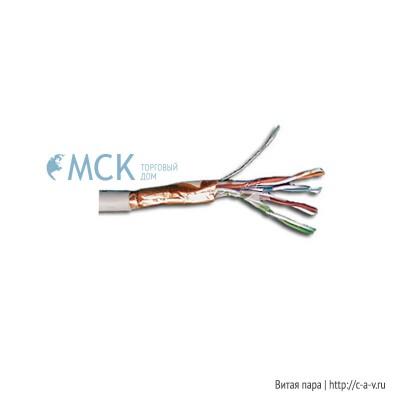 Nexans 10041135 (куски) Кабель витая пара, экранированная (FTP), категория 5e, 4 пары, многожильный (patch)