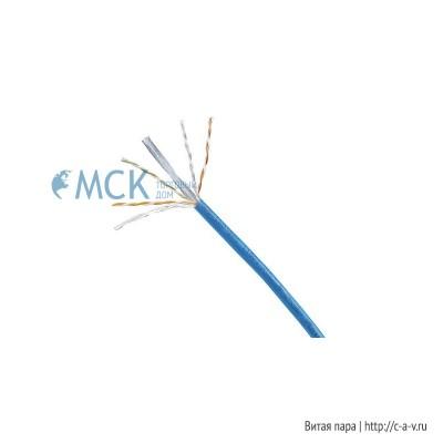 PANDUIT PUZ6004BU-CEG (PUZ6004BU-CE/N) (305 м) Кабель витая пара, неэкранированная U/UTP, категория 6, 4 пары (23 AWG), одножильный (solid), с разделителем, LSZH IEC 60332-3, -20°C - +75°C, синий
