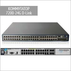 Модульный коммутатор 7200-24G D-Link