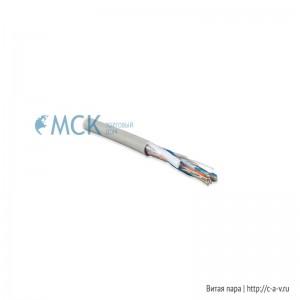 Hyperline UUTP12-C5-S24-IN-PVC-GY (UTP12-C5-SOLID-INDOOR) Кабель витая пара, неэкранированная U/UTP, категория 5, 12 пар (24 AWG), одножильный (solid), PVC, –20°C - +60°C, серый