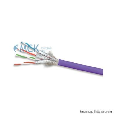 Siemon 9T7L4-E6 (K) (305 м) Кабель витая пара TERA®, экранированная S/FTP, категория 7, 4 пары (23 AWG), одножильный (solid), LSOH-1 (IEC 60332-1), -20°C - +75°C, фиолетовый (катушка)