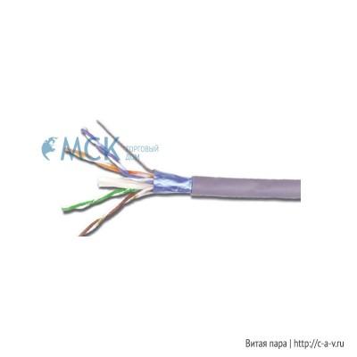 Siemon 9A6M4-A5-5CR (500 м) Кабель витая пара, экранированная F/UTP, категория 6A, 4 пары (23 AWG), одножильный (solid), с разделителем, PVC (CM, IEC 60332-1), -20°C - +75°C, серый