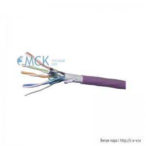 Siemon 9N6L4-A5-08-AR2N (500 м) Кабель витая пара, экранированная F/FTP, категория 6A, 4 пары (23 AWG), одножильный (solid), LSOH (IEC 60332-1), -20°C - +75°C, фиолетовый