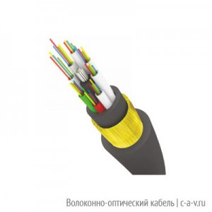 Трансвок ОКМС-2/4(2,0)Сп-8(2) (7,0кН) Кабель волоконно-оптический 9.5/125 одномодовый, 8 волокон, магистральный самонесущий со стеклонитями с двумя оболочками для подвески на опорах контактной сети