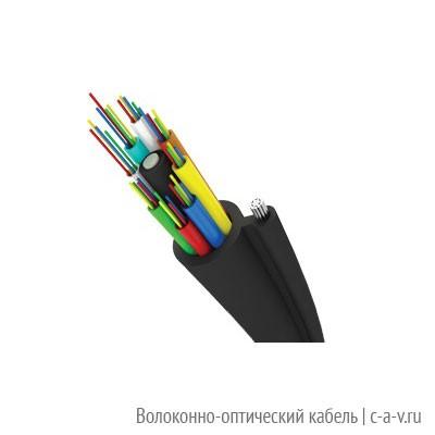 Трансвок ОКП-Т-3/1(2,4)Сп-24(2) (4 кН) Кабель волоконно-оптический 9.5/125 одномодовый, 24 волокна, с металлическим тросиком, для подвески на опорах линий связи, для внешней прокладки (ОКП-Т-24(2)Сп )