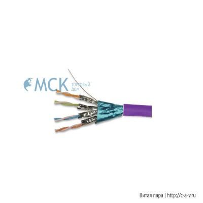 Siemon 9N7L4-E6 (K) (305 м) Кабель витая пара TERA®, экранированная F/FTP, категория 7, 4 пары (23 AWG), одножильный (solid), LSOH-1 (IEC 60332-1), -20°C - +75°C, фиолетовый