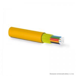 Hyperline FO-MC3-IN-50-12-LSZH-OR Кабель волоконно-оптический 50/125 (OM2) многомодовый, для патч-кордов и кабельных сборок с коннекторами MPO/MTP, 12 волокон, для внутренней прокладки, LSZH IEC 60332-3, -20°C - +70°C, 3.0 мм, оранжевый