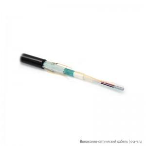 Hyperline FO-MBA-OUT-9-12-PE-BK Кабель волоконно-оптический 9/125 (OS2) одномодовый, бронированный, 12 волокон, безгелевые микротрубки 0.9 мм (micro bundle), внешний, PE, –30°C – +70°C, черный