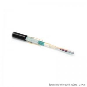 Hyperline FO-MBA-OUT-9-48-PE-BK Кабель волоконно-оптический 9/125 (OS2) одномодовый, бронированный, 48 волокон, безгелевые микротрубки 0.9 мм (micro bundle), внешний, PE, –30°C – +70°C, черный