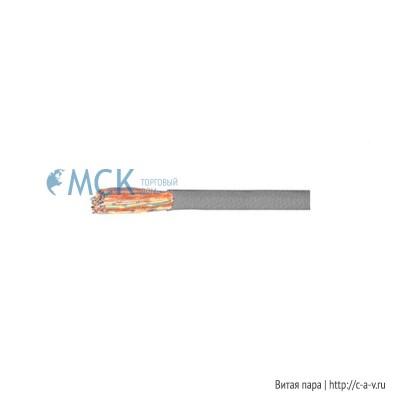 Siemon 9C3M50-E1 (305 м) Кабель витая пара, неэкранированная U/UTP, категория 3, 50 пар, одножильный (solid), PVC, серый