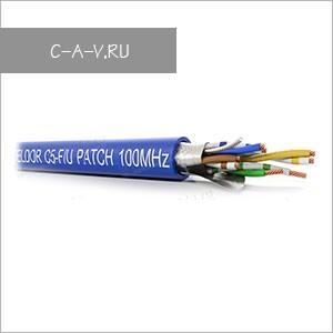 C5-F/U-26/7FRPVC - кабель витая пара, BASIC Solution, 5е категория, эластичный патч, FTP, 4 пары, 100 Мгц