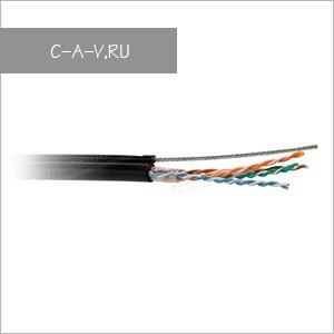 C5-UTP4205-OUTDR-2SW - кабель витая пара, для наружных работ, 5е категория, монтажный, UTP, 4 пары, 100 Мгц