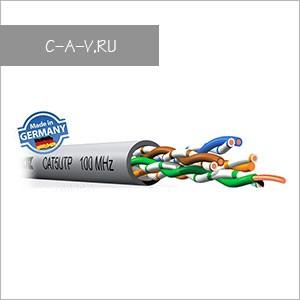 C5U/U - кабель витая пара, 5 категория, UTP, 4 пары, 100 Мгц