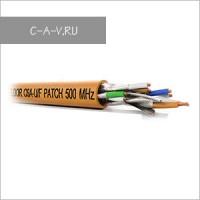 C6A-U/F-26/7FRPVC - кабель витая пара, GIGA-STAR Solution, 6a категория, эластичный патч, U/FTP, 4 пары, 500 Мгц