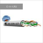 C6AU/U - кабель витая пара, 6 категория, U/UTP, 4 пары, 500 Мгц