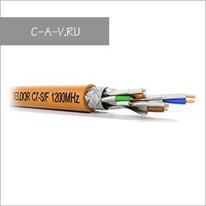 C7A-S/F-23/1H - кабель витая пара, HI-GIGA Solution, 7a категория, S/FTP, 4 пары (c общим экраном и экраном каждой пары), 1200 Мгц