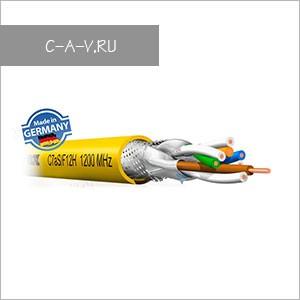 C7AS/F12H - кабель витая пара, 7a категория, S/FTP (c общим экраном и экранировкой каждой пары)