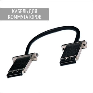 Кабель для соединения коммутаторов ECS4610-26T/50T, 10G, 30см