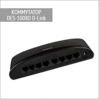 Коммутатор DES-1008D D-Link