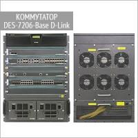 Модульный коммутатор DES-7206-Base D-Link