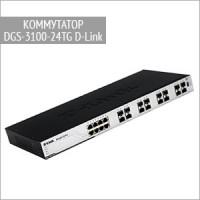 Оптический коммутатор DGS-3100-24TG D-Link