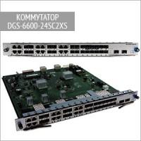 Модульный коммутатор DGS-6600-24SC2XS D-Link