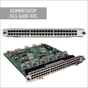 Модульный коммутатор DGS-6600-48S D-Link