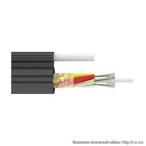 Стандартный подвесной с выносным силовым элементом (ДПОд) | Оптический кабель завода «Инкаб»