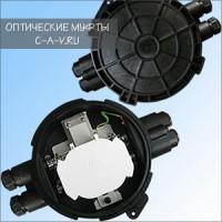 Оптическая муфта FOSC FTTH 2|36-3x12