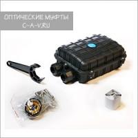 Универсальная настенная оптическая муфта GJS-M (96 волокон)