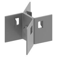 Кронштейн для крепления муфт на опорах ККМ-02