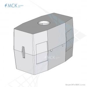 Колодец ККС-3-10 ГЕК (для газонов, тротуаров)