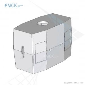 Колодец ККС-5-10 ГЕК (для газонов и тротуаров)