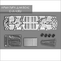 Комплект кассеты К24-4525 (стяжки, маркеры, КДЗС 30шт.)