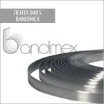 Лента из нержавеющей стали B403 Bandimex