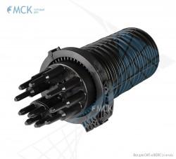 Муфта-кросс МКО-Г3/С09 1PLC16 18SC/APC сплиттерная полной комплектации