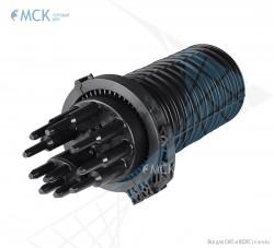 Муфта-кросс МКО-Г3/С09 1PLC8 18SC/APC сплиттерная полной комплектации